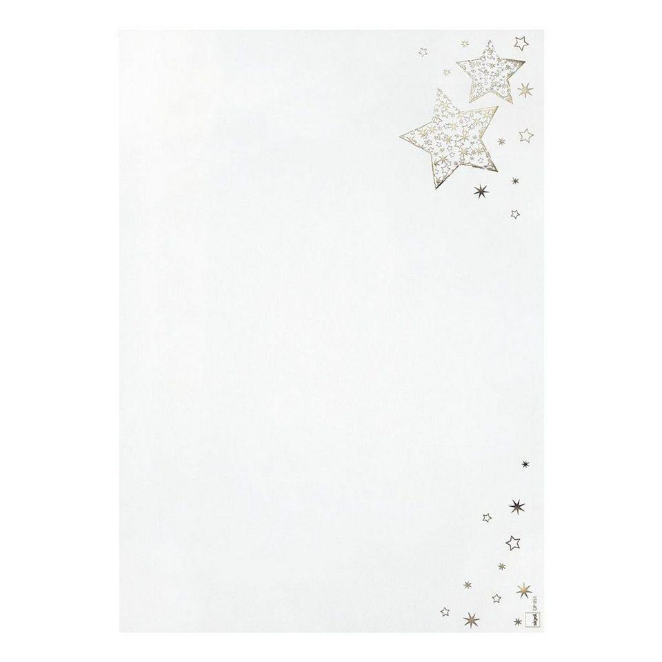Weihnachts-Motiv-Papier »Golden Glow«