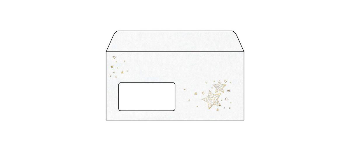 Sigel Weihnachts-Umschlag »Golden Glow«