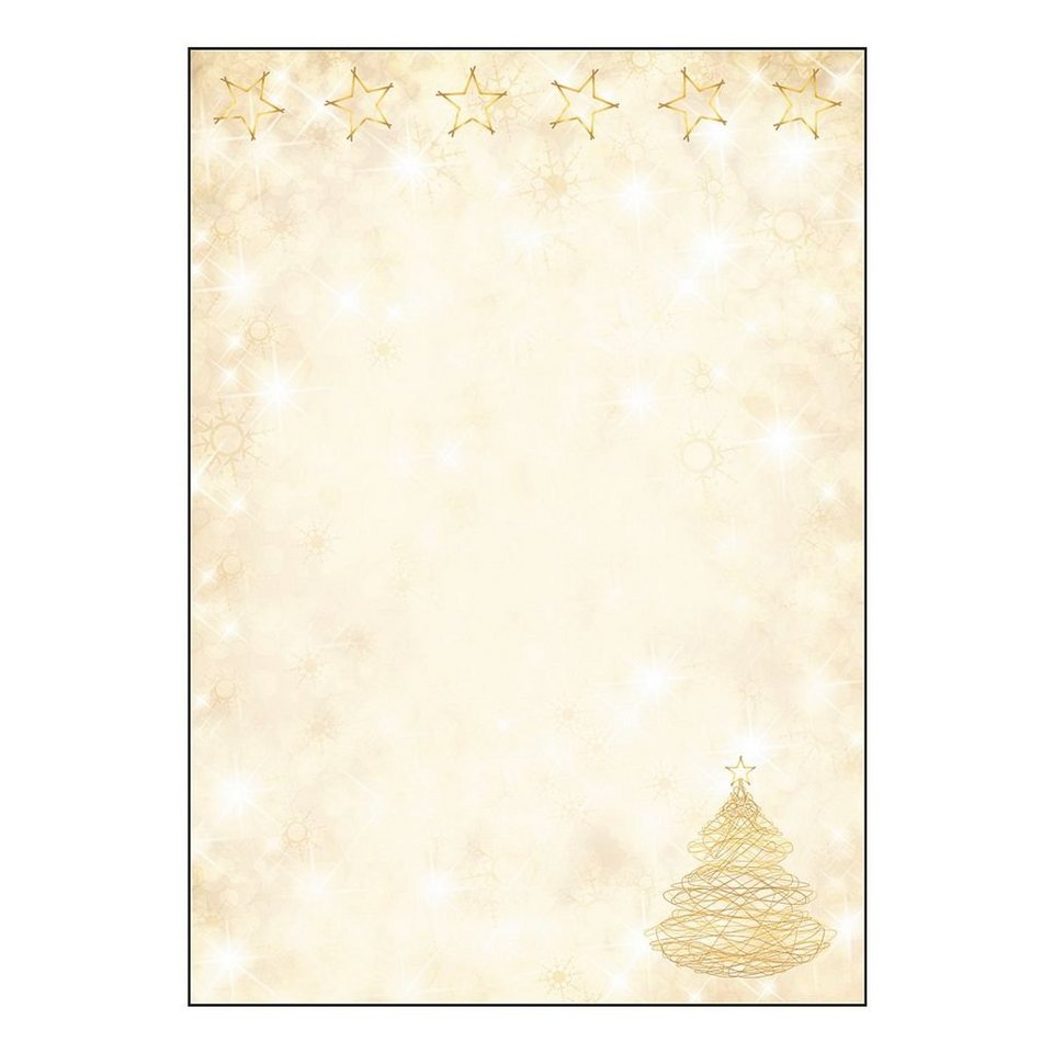 Sigel Motivpapier »Graceful Christmas«