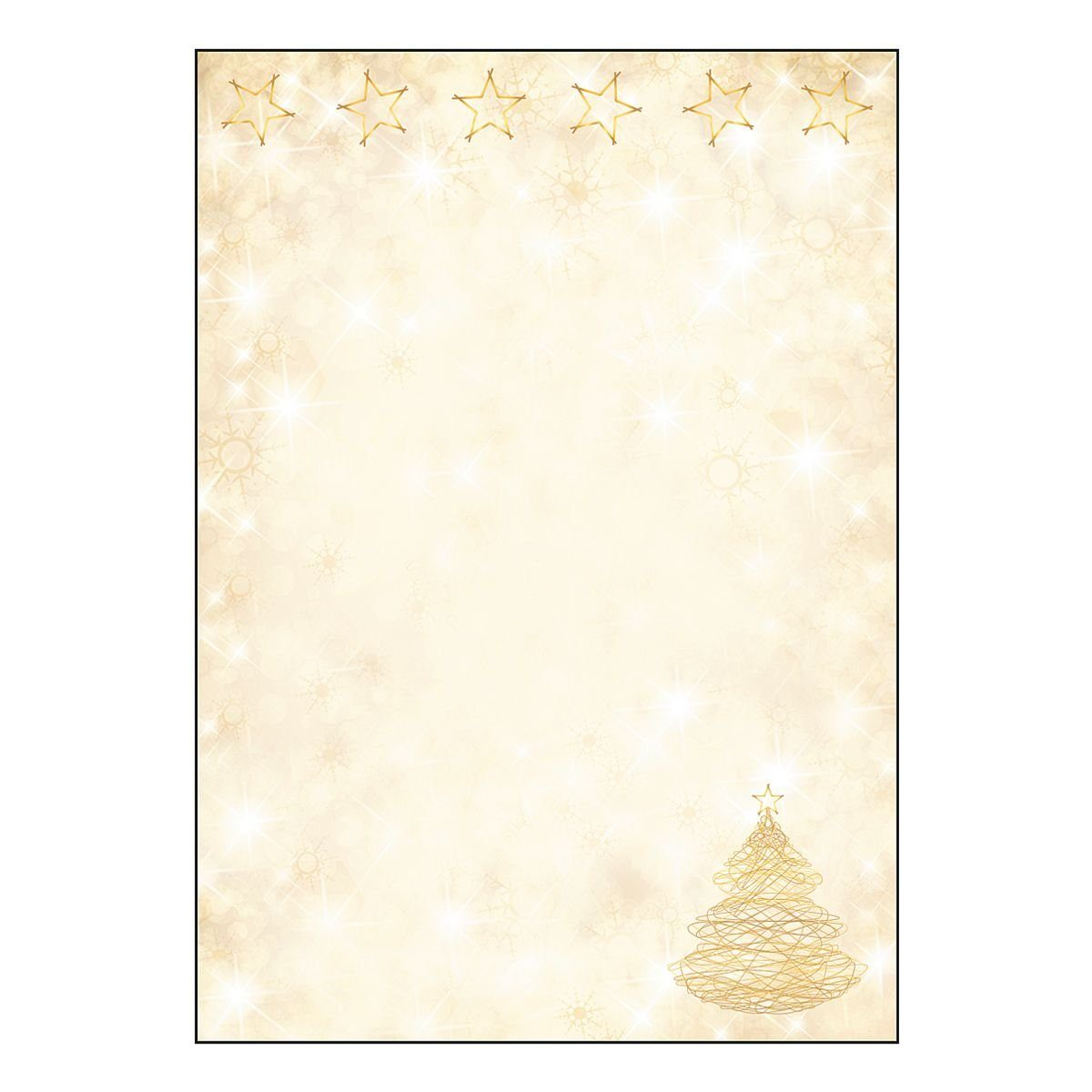 Sigel Motivpapier »Graceful Christmas«