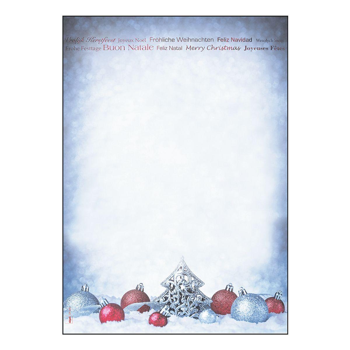 Sigel Motivpapier »Christmas Moments«