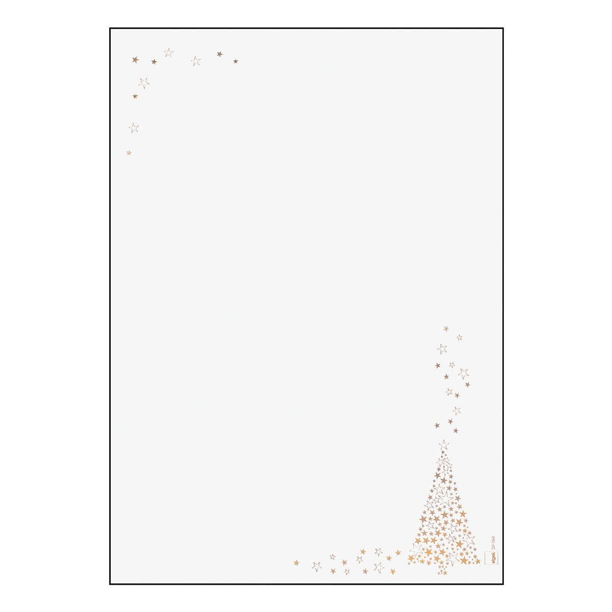 Sigel Motivpapier »Golden Tree«
