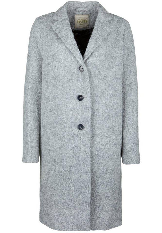 Blaumax Wollmantel »GWEN« in light grey