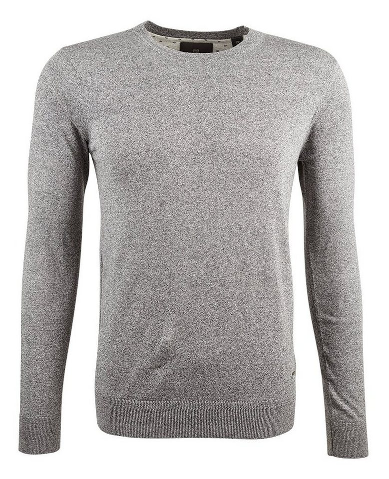 Scotch & Soda Pullover »Crewneck pull in cotton melange quality« in grau