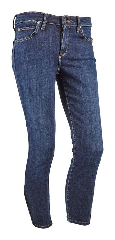 Lee Jeans »SCARLETT CROPPED STONE RINSE« in blau