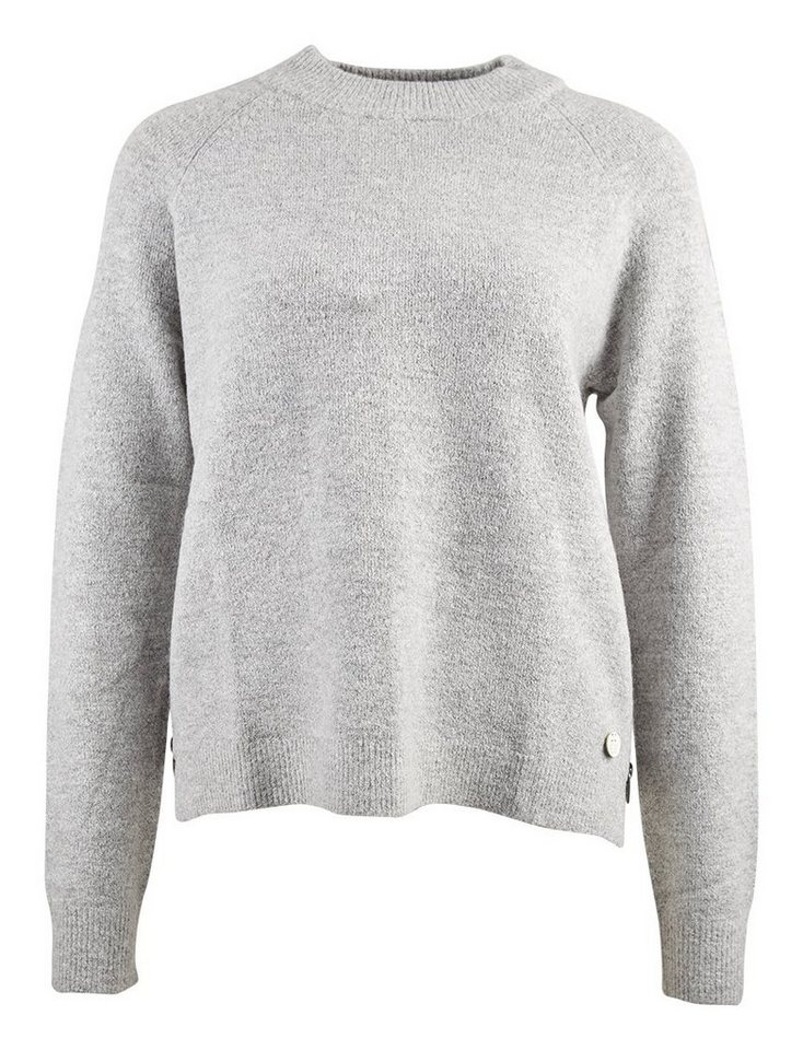 Lee Pullover »HIGH NECK KNIT LIGHT GREY MELE« in grau