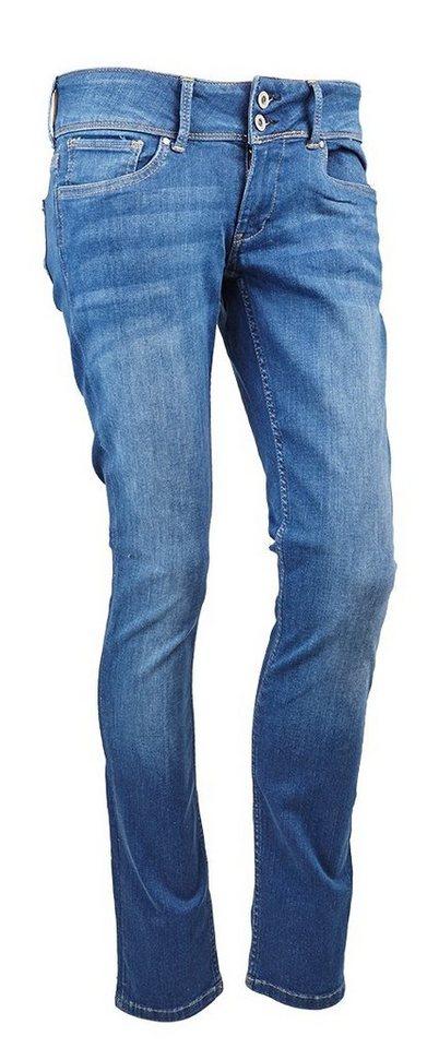 Pepe Jeans Jeans »VERA mit Zweiknopf - Bund« in blau