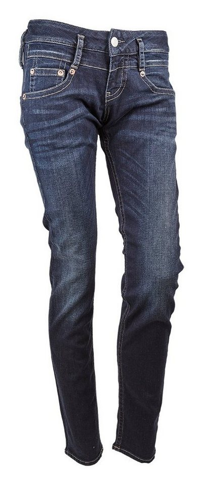 Herrlicher Jeans »Pitch Slim Denim Stretch« in blau
