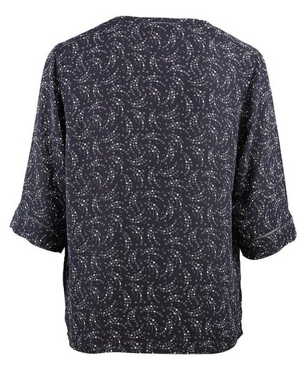 Maison Scotch Tee Shirt With Print Pattern And 3/4-arm