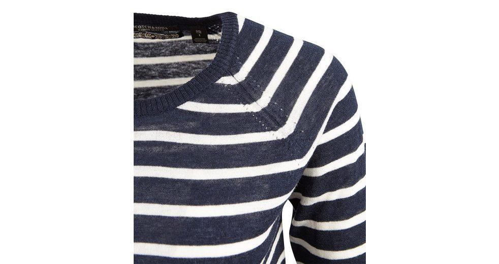 Maison Scotch Pullover Pullover Rundhals gestreift Das Beste Geschäft Zu Bekommen  Spielraum Bester Ort Günstiger Online-Shop Billig Verkauf Outlet-Store sSUixwTLCp