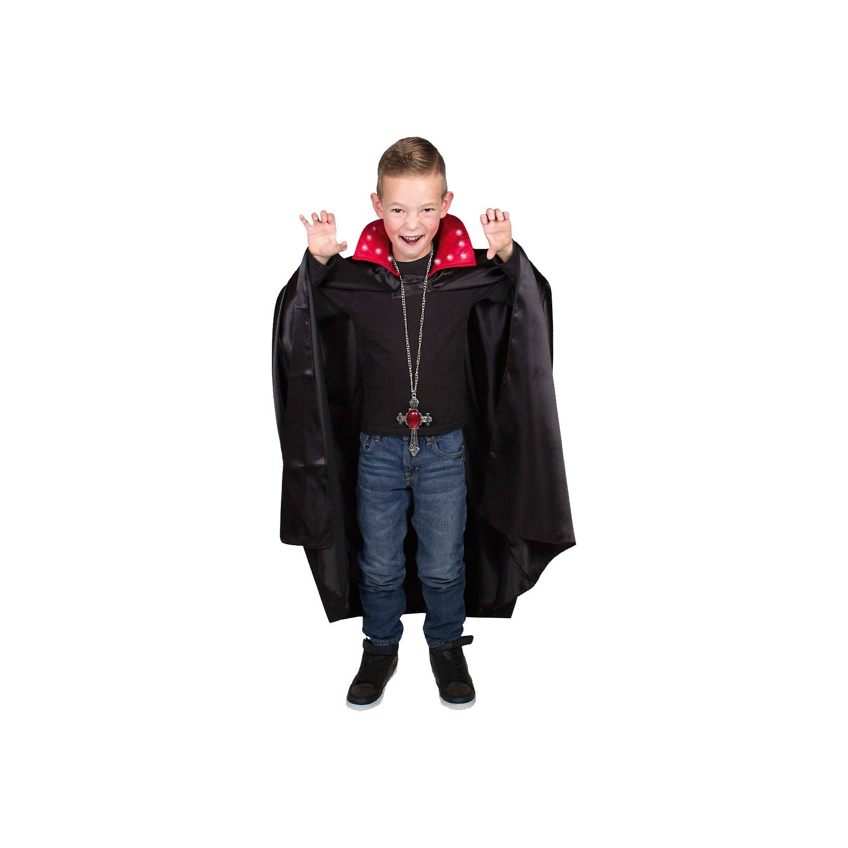 Umhang Dracula mit LED