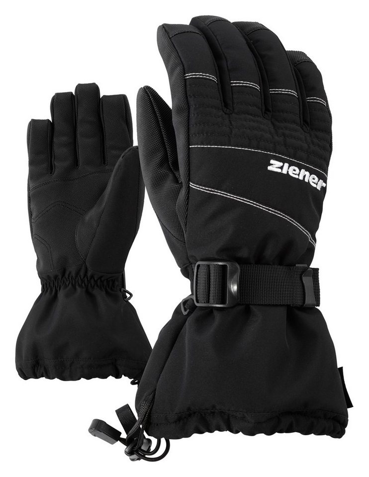 Ziener Handschuh »GANNIK AS(R) glove ski alpine« in black