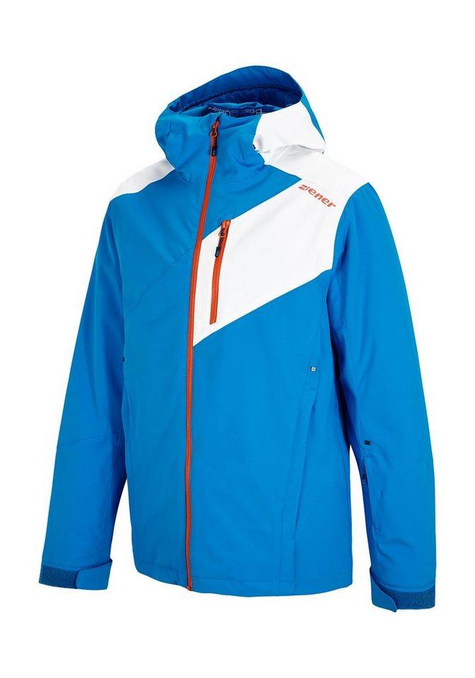 Ziener Jacke »TURRY man (jacket ski)« in persian blue