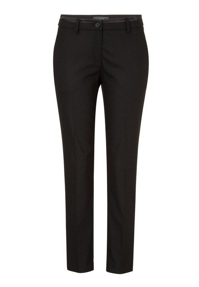 BRAX Damenhose »MARON WOOL« in BLACK