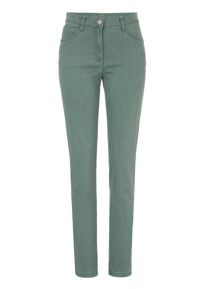 BRAX Jeans »MARY GLAMOUR« in DUSTY GREEN