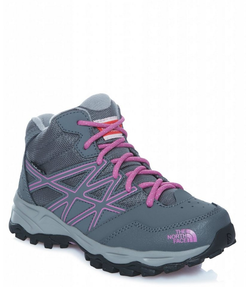 The North Face Kletterschuh »Hedgehog Hiker Mid WP Shoes Junior« in grau