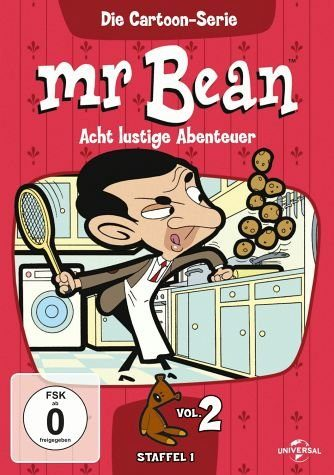 DVD »Mr. Bean - Die Cartoon-Serie 2«