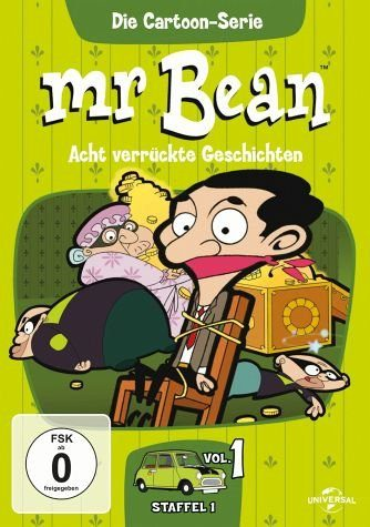 DVD »Mr. Bean - Die Cartoon-Serie 1«