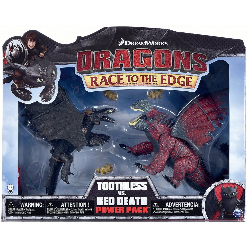 Spin Master Dragons - Deluxe Dragons Legends Battle Pack - Ohnezahn & de
