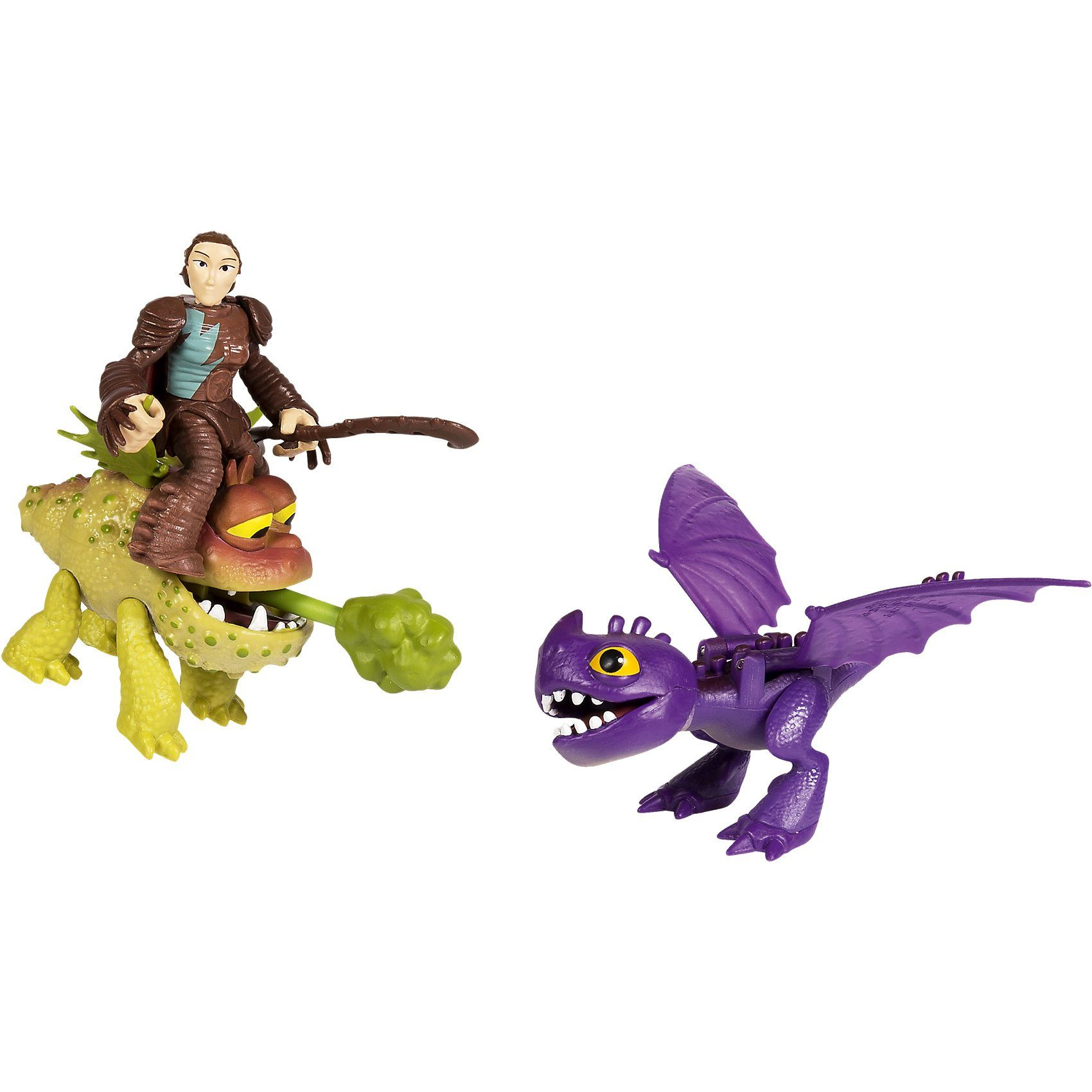 Spin Master Dragons - Dragon & Riders - Valka Baby Gronckel und Mini-Kra
