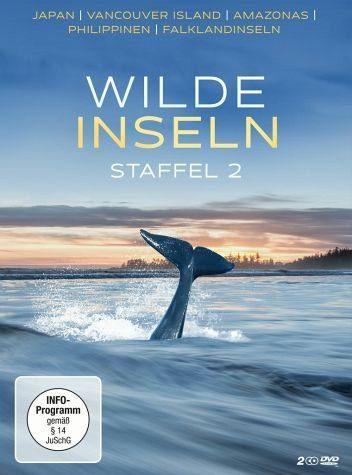 DVD »Wilde Inseln - Staffel 2 (2 Discs)«