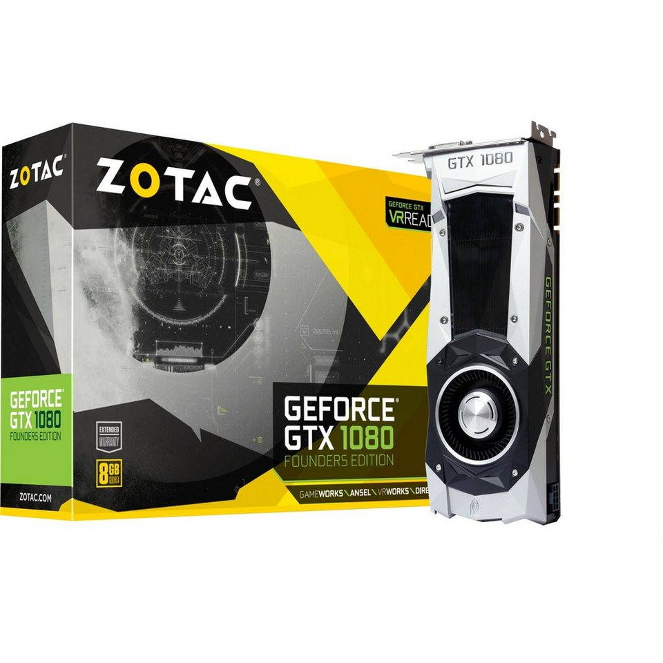 ZOTAC Grafikkarte »GeForce GTX 1080 Founders Edition«