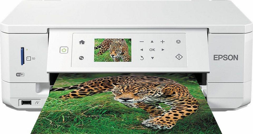 Epson Expression Premium XP-645 Multifunktionsdrucker in weiß