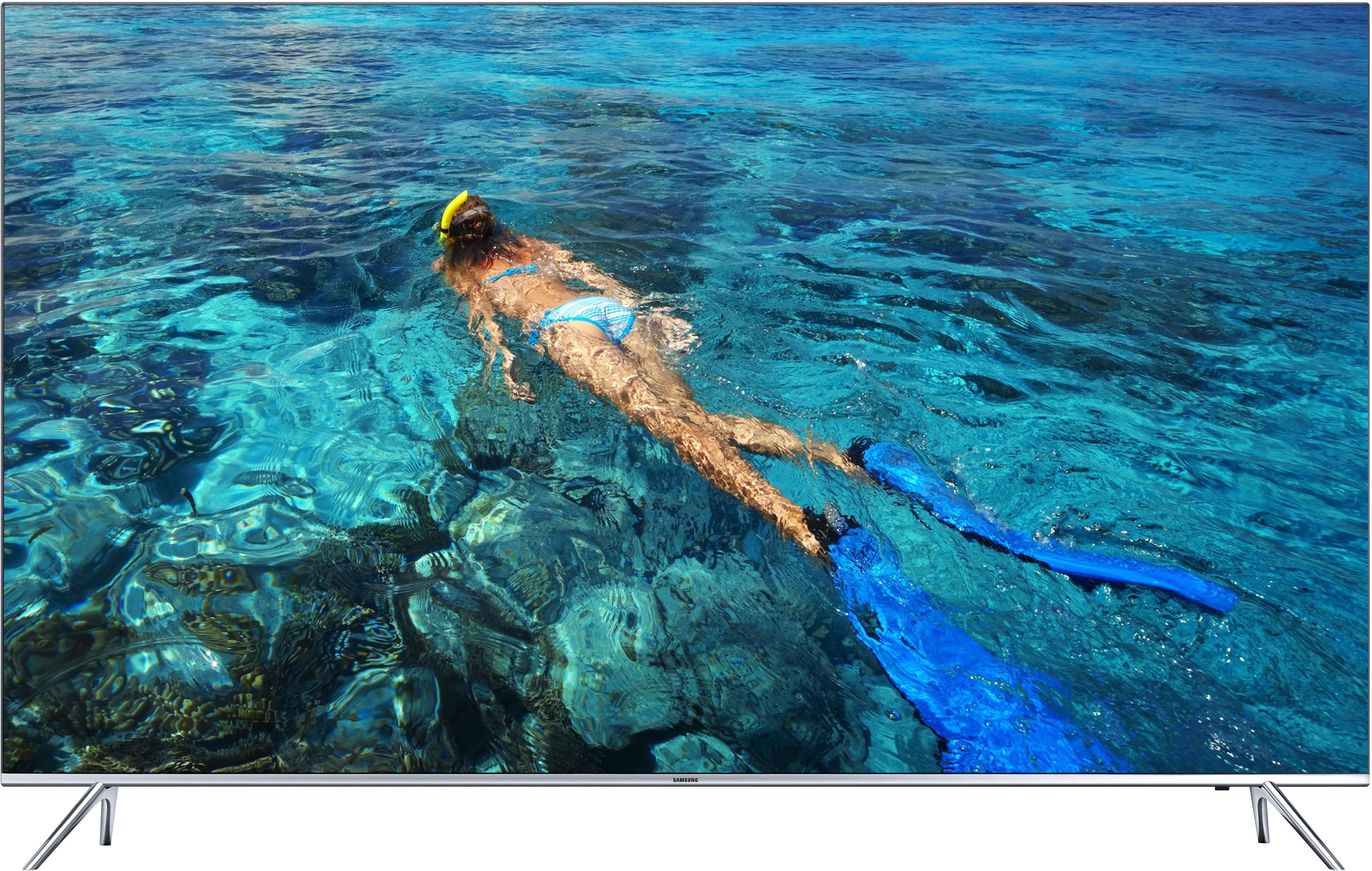 Samsung UE65KS7090UXZG, LED Fernseher, 163 cm (65 Zoll), 2160p (SUHD), Smart-TV