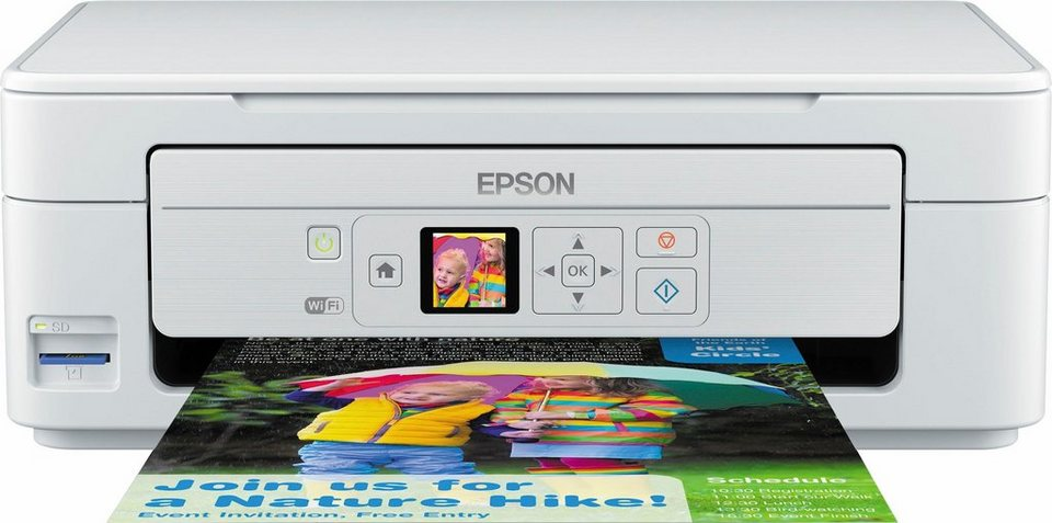 Epson Expression Home XP-345 Multifunktionsdrucker in weiß