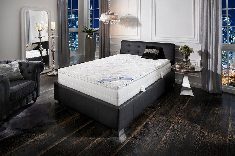gelschaum topper gelax malie raumgewicht 50 otto. Black Bedroom Furniture Sets. Home Design Ideas
