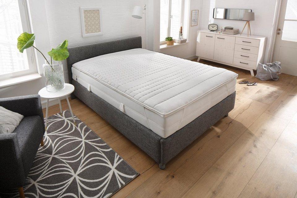 Komfortschaum-Topper Schlaf-Gut Komfort TS 1-Loch-Faser-Technologie