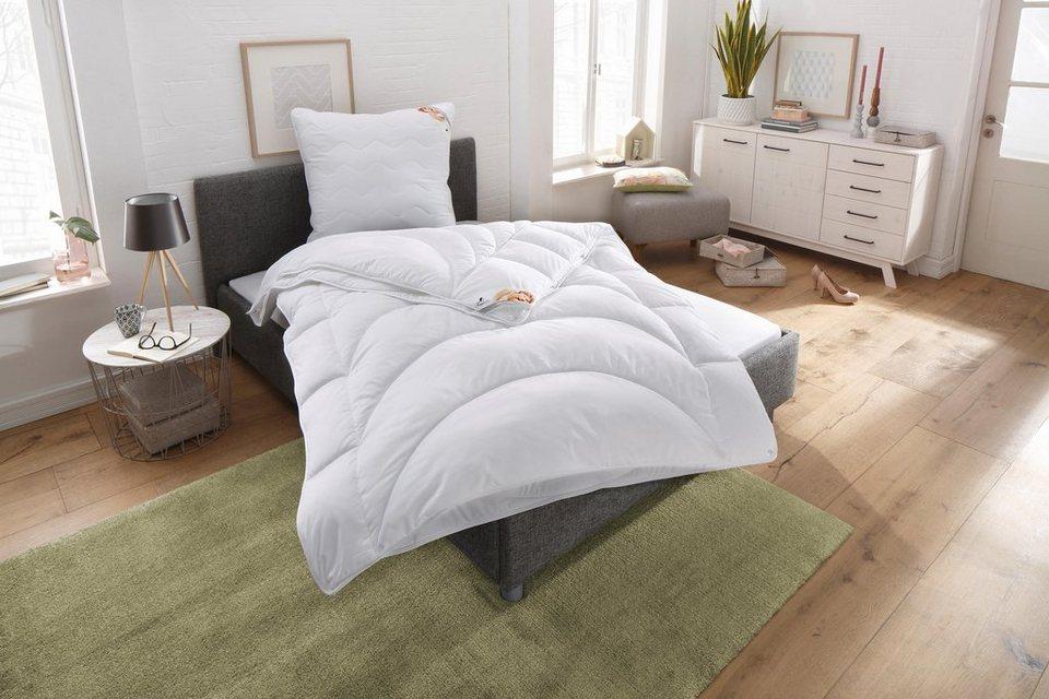 4 Jahreszeitenbett Microlux Baumwolle Traumecht 4 Jahreszeiten Fullung Polyester Bezug 100 Baumwolle 1 Tlg Anschmiegsam Kuschelig