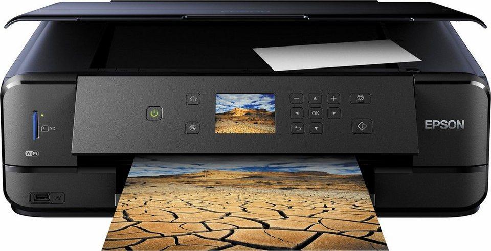 Epson Expression Premium XP-900 Multifunktionsdrucker in schwarz