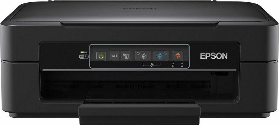 Epson Expression Home XP-245 Multifunktionsdrucker in schwarz