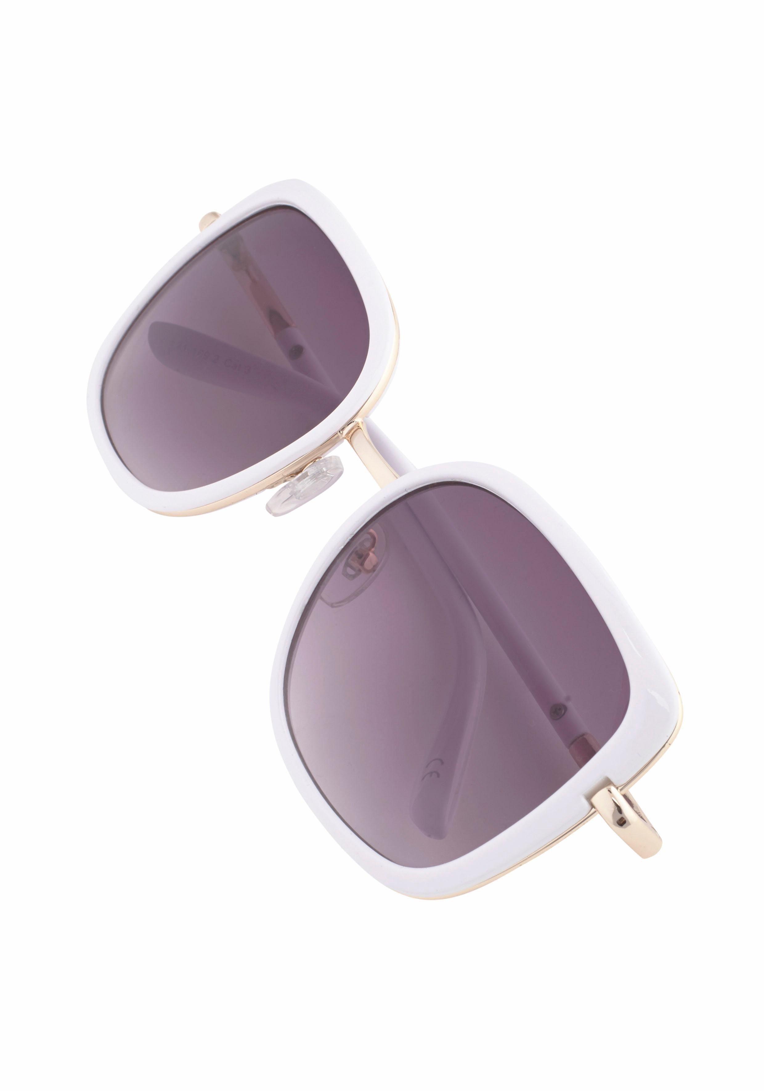catwalk Eyewear Sonnenbrille, mit Rahmen im Materialmix