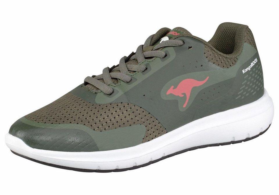 KangaROOS »Start One W« Sneaker in olivgrün-pink