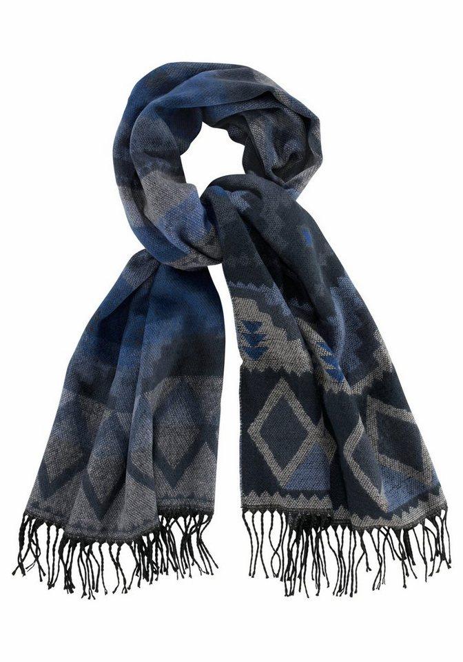 Vero Moda Modeschal im Ethno-Style in graublau
