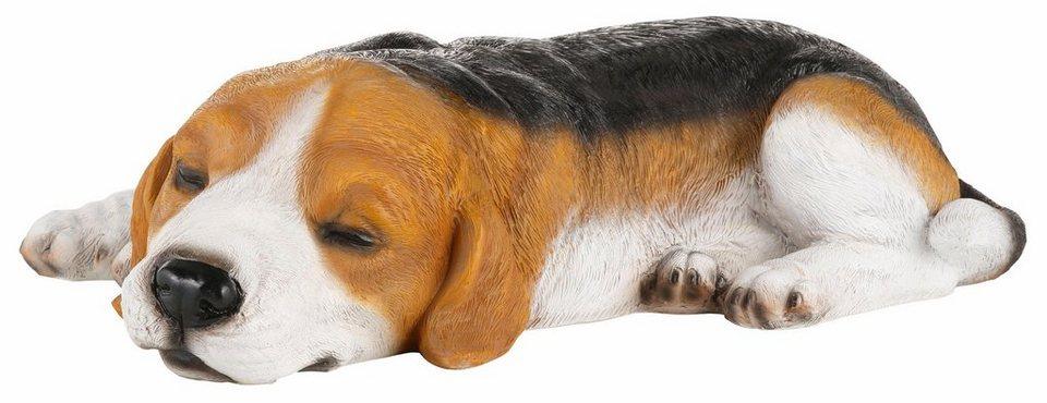 Home affaire Dekofigur »Hund Beagle« in bunt