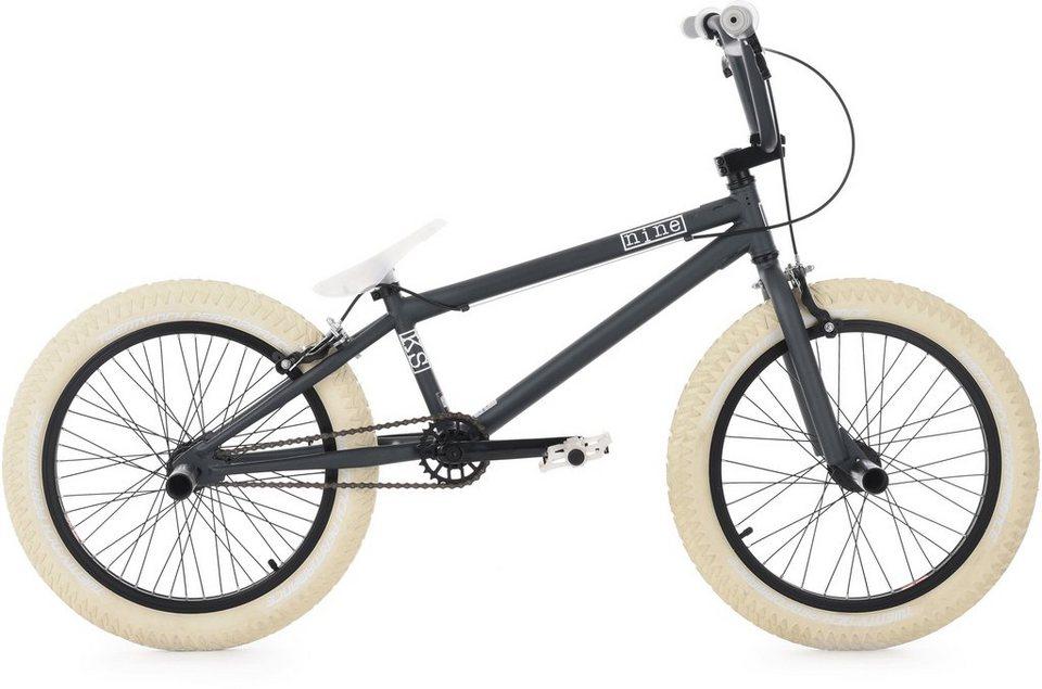 KS Cycling BMX Fahrrad,20 Zoll, »Nine« in grau