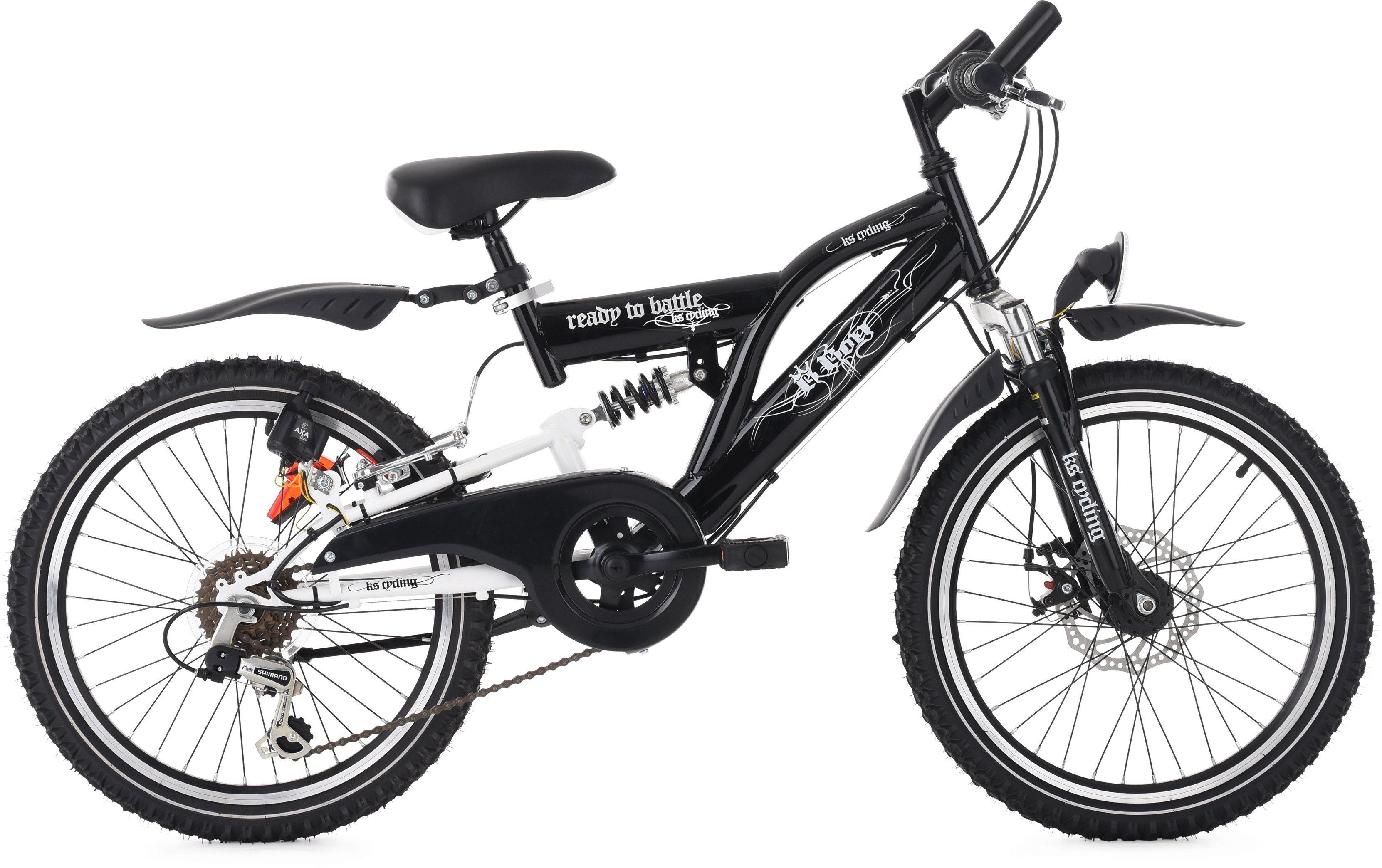 KS Cycling Jugendfahrrad »B-Boy«, 6 Gang Shimano Tourney Schaltwerk, Kettenschaltung