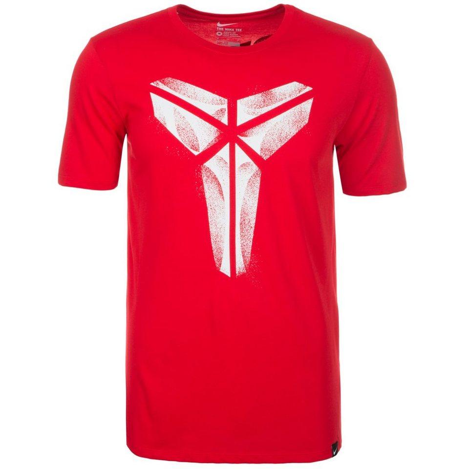 NIKE Kobe XXIV T-Shirt Herren in rot / weiß