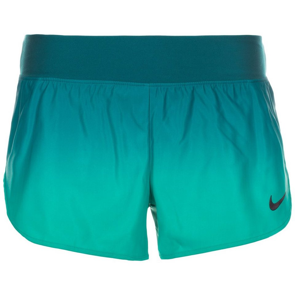 NIKE Court Flex Tennisshort Damen in grün / hellgrün