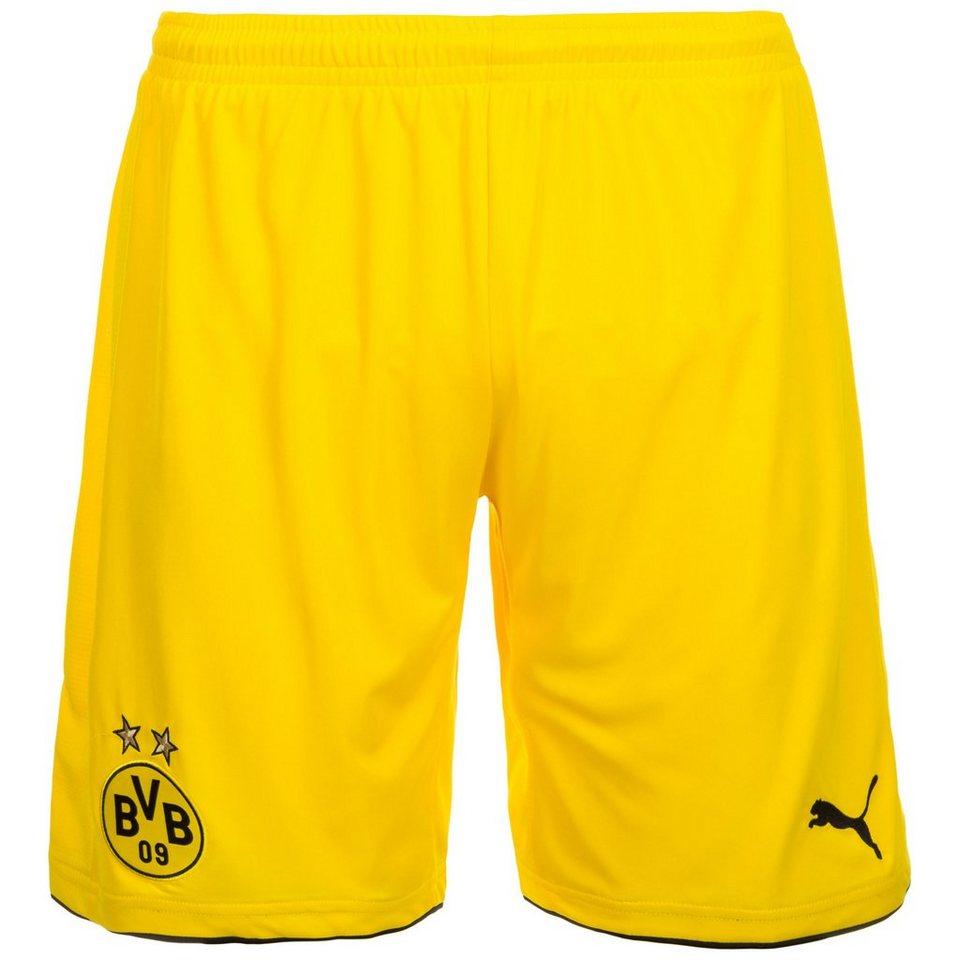 PUMA Borussia Dortmund Short Away 2016/2017 Herren in gelb / schwarz