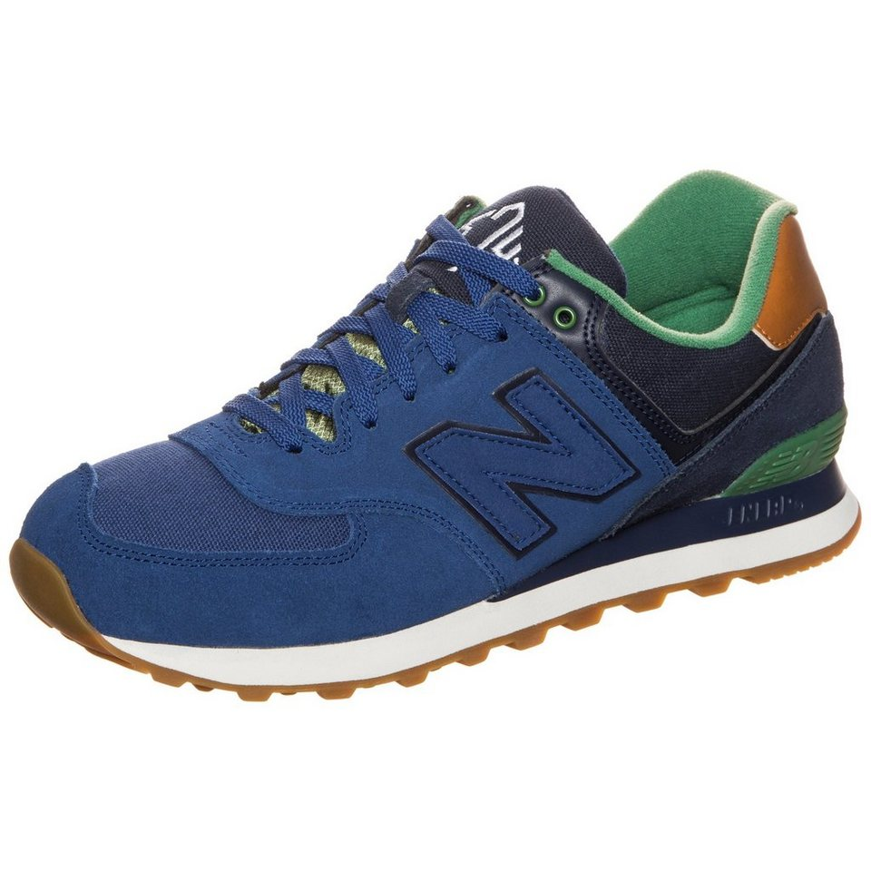 NEW BALANCE ML574-NEA-D Sneaker in blau / grün
