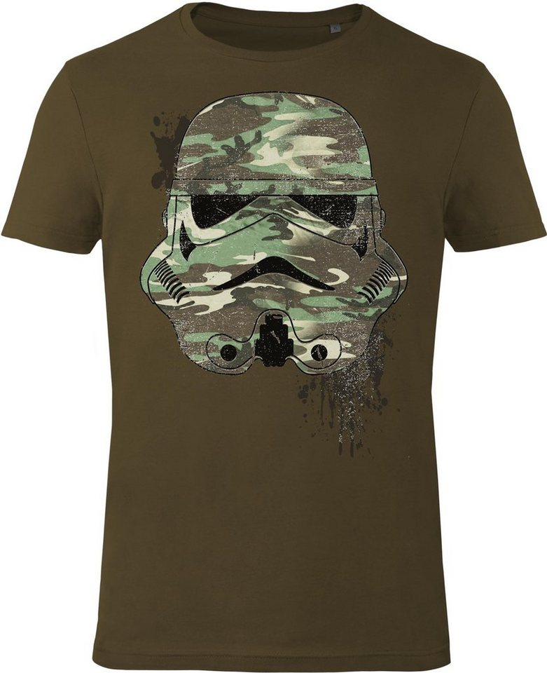 Gozoo T-Shirt »Star Wars - Imperial Stormtrooper - Military« in Olive