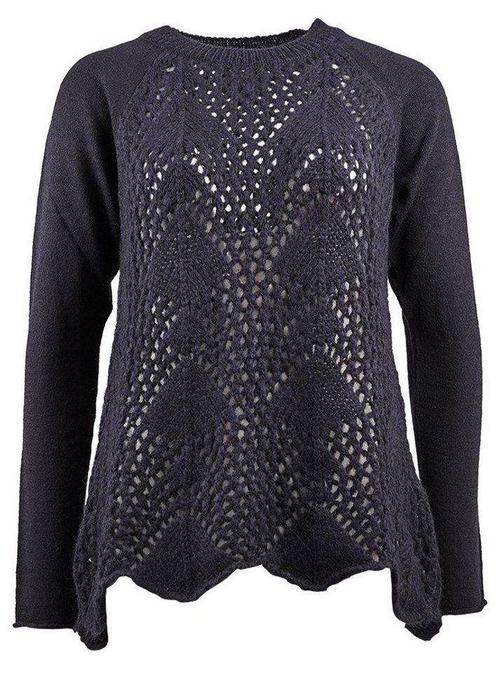 Herrlicher Pullover »Maira Wool Mix« in marine