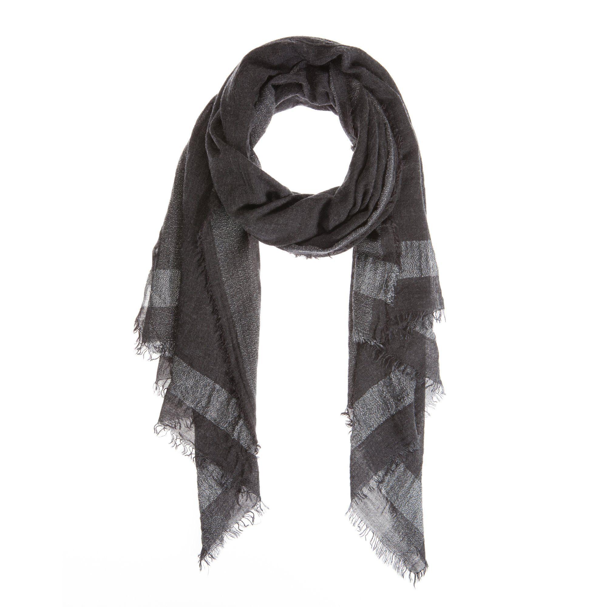 CODELLO Schal mit breitem Streifen