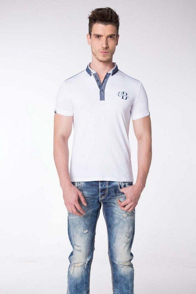 Cipo & Baxx Herren T-Shirt in Weiß