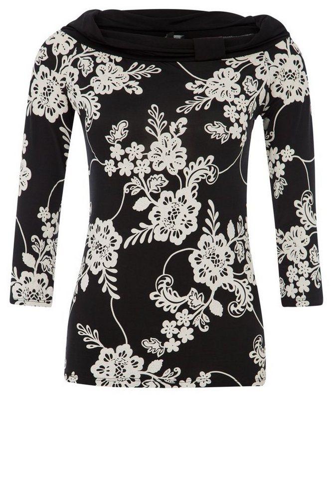 Vestino Shirt in schwarzweiß