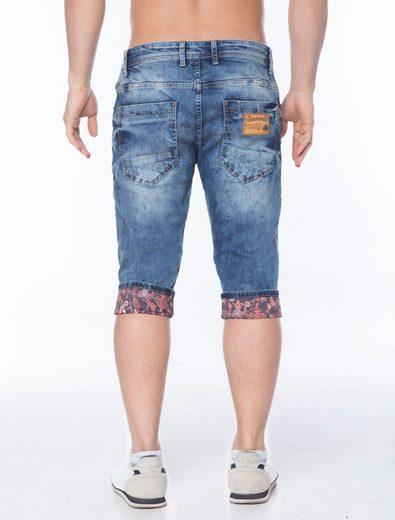 Cipo & Baxx Jeans Caprihose